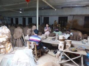 487. Xian. taller de reproducción de guerreros