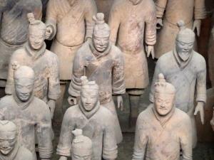 502. Xian. Los guerreros