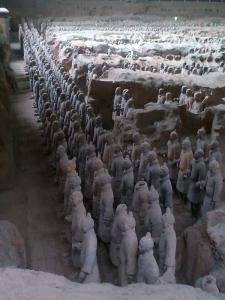 527. Xian. Los guerreros