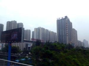 618. Xian. Hacia el aeropuerto