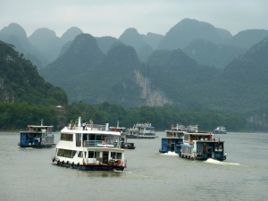 712. Guilin. Río Li