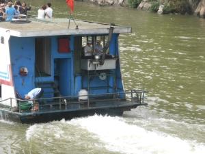 742. Guilin. Río Li. Preparando la comida