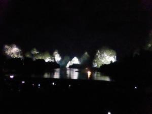859. Yangshuo. Espectáculo de luz y sonido en el río