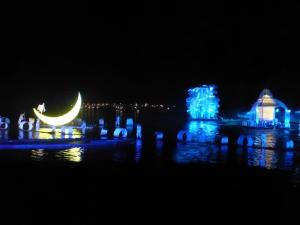 874. Yangshuo. Espectáculo de luz y sonido en el río
