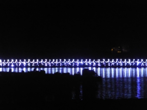 892. Yangshuo. Espectáculo de luz y sonido en el río