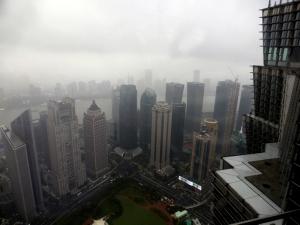 934. Shangai. Desde la Torre Jinmao