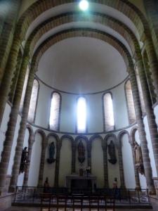 Ábside norte. Interior