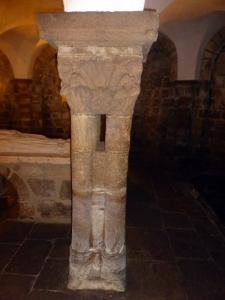 Cripta. Columnas
