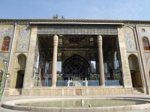 023. Teherán. Palacio Golestán