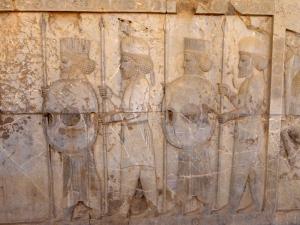 1003. Persépolis. Relieves de la Apadana