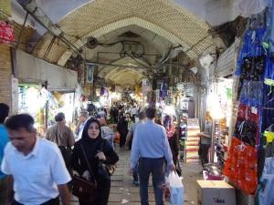 154. Teherán. Bazar