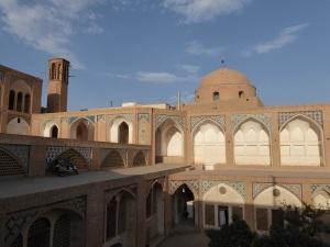 268. Kashán. Mezquita y madraza Agha Bozorg