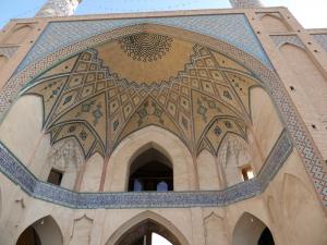 270. Kashán. Mezquita y madraza Agha Bozorg