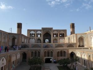 271. Kashán. Mezquita y madraza Agha Bozorg