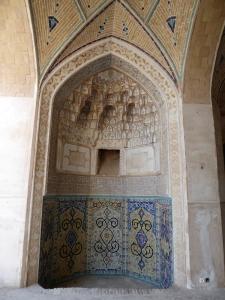 272. Kashán. Mezquita y madraza Agha Bozorg
