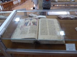367. Isfahán. Catedral Vank. Museo. Monolagium. Escrito en armenia en 1464