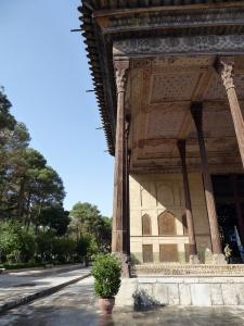 451. Isfahán. Palacio Chehel Sotun
