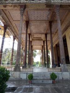 465. Isfahán. Palacio Chehel Sotun