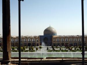 477. Isfahán. Desde el Palacio Ali Qapu