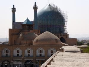 479. Isfahán. Desde el Palacio Ali Qapu