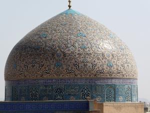 481. Isfahán. Desde el Palacio Ali Qapu