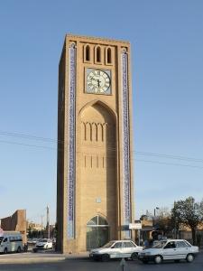 660. Yazd. Torre del reloj