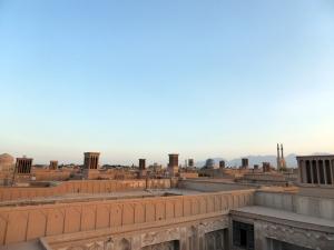 688. Yazd. Barrio antiguo desde una terraza