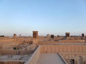 689. Yazd. Barrio antiguo desde una terraza
