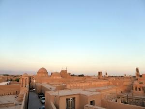 690. Yazd. Barrio antiguo desde una terraza
