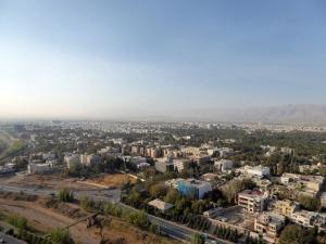 904. Shiraz. Desde el hotel