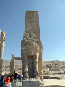 916. Persépolis. Puerta de Jerjes