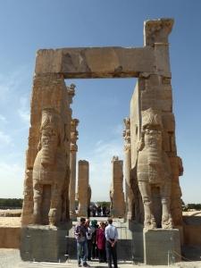 930. Persépolis. Puerta de Jerjes.