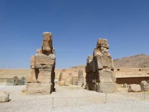 936. Persépolis. Puerta inacabada