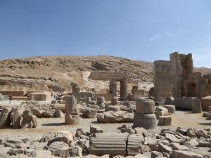 938. Persépolis. Salón de las cien columnas