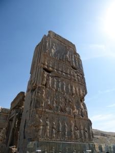 940. Persépolis. Salón de las cien columnas. Puerta norte