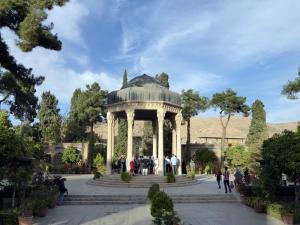 1066. Shyraz. Mausoleo del poeta Hafez (1324-1391). Glorieta de 1936