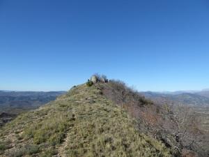 El cerro donde está la capilla antigua desde el este 2
