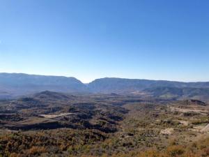 Montrebei desde Montserbós