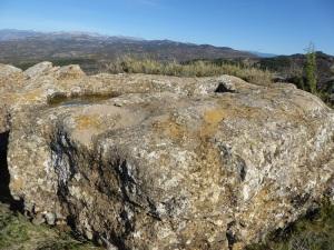 Sepultura en la roca al oeste de la capilla 1
