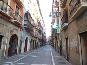 003. Pamplona. Calle San Antón