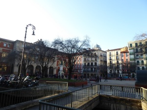 005. Pamplona. Plaza San Francisco
