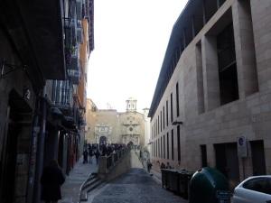 008. Pamplona. Cuesta de Santo Domingo
