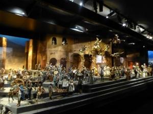 022. Valladolid. Museo Nacional de Escultura. Belén napolitano