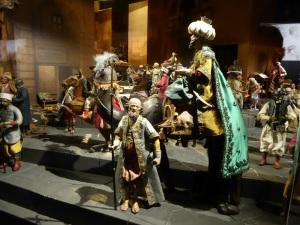 024. Valladolid. Museo Nacional de Escultura. Belén napolitano