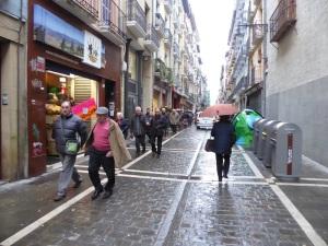 025. Pamplona. Por la calle Mayor