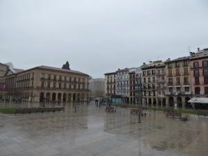 034. Pamplona. Plaza del Castillo