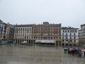 038. Pamplona. Plaza del Castillo