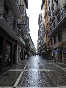 039. Pamplona. Calle Estafeta