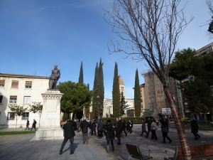 039. Valladolid. Plaza de la Universidad