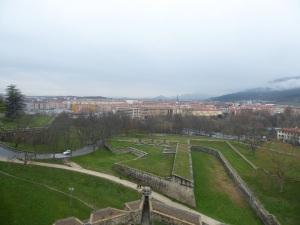 043. Pamplona. Desde el mirador dle Caballo Blanco